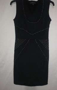 Rock & Republic Black Studded Bodycon Dress XS